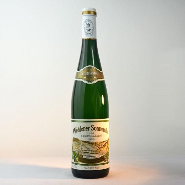2010 Wwe. Dr. H. Thanisch – Erben Müller-Burggraef Wehlener Sonnenuhr Riesling Auslese