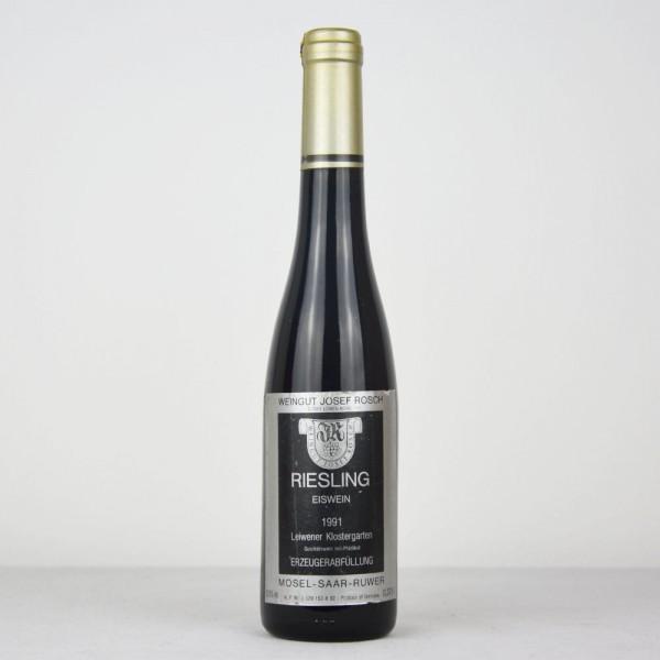 1991 Josef Rosch Leiwener Klostergarten Riesling Eiswein 375 ml