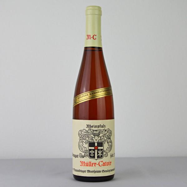 1981 Müller-Catoir Gimmeldinger Meerspinne Gewürztraminer Spätlese