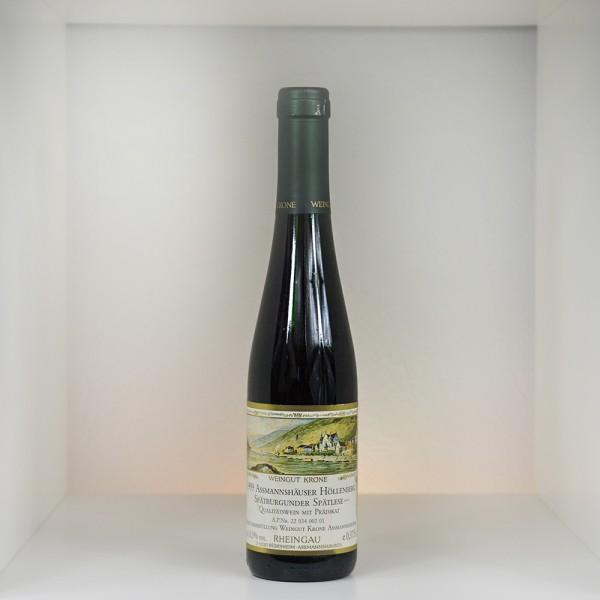 1999 Weingut Krone Assmannshäuser Höllenberg Spätburgunder Spätlese trocken *** 375 ml