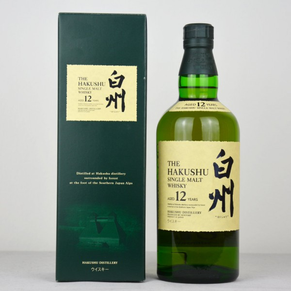 The Hakushu 12 Jahre, Single Malt Whisky, alte Ausführung, old version