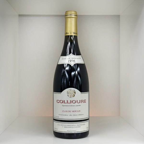 """1996 Domaine du Mas Blanc """"Clos du Moulin"""" Collioure AC"""