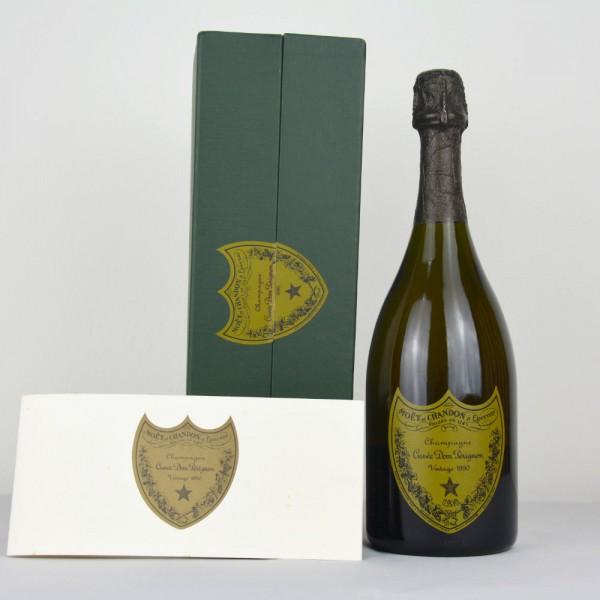 1990 Champagne Dom Perignon Brut, Gift Box