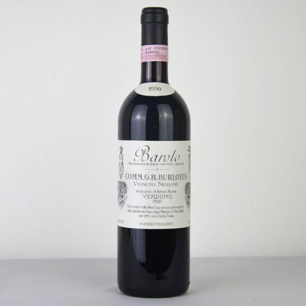 """1990 Burlotto Barolo """"Neirane"""" DOCG"""