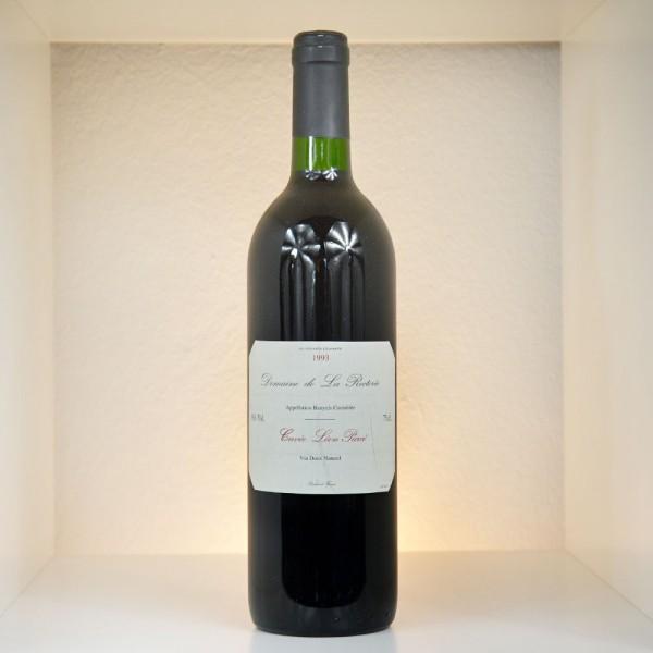 """1993 Domaine de La Rectorie Banyuls AC Cuvée """"Léon Parcé"""""""