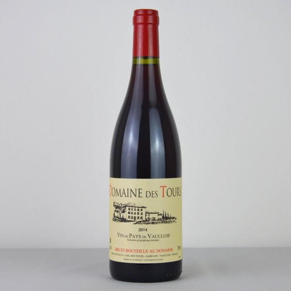 Domain des Tours Vin de Pays de Vaucluse 2014 Rouge
