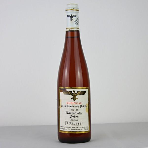 1971 Hessische Staatsweingüter Kloster Eberbach - Rauenthaler Gehrn Riesling Auslese 0,75 L