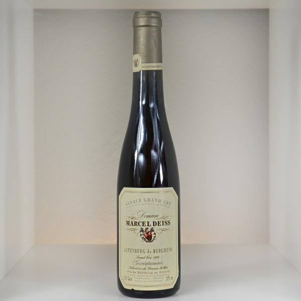 "1996 Domaine Marcel Deiss Grand Cru ""Altenberg"" Gewurztraminer Selection de Grains Nobles"