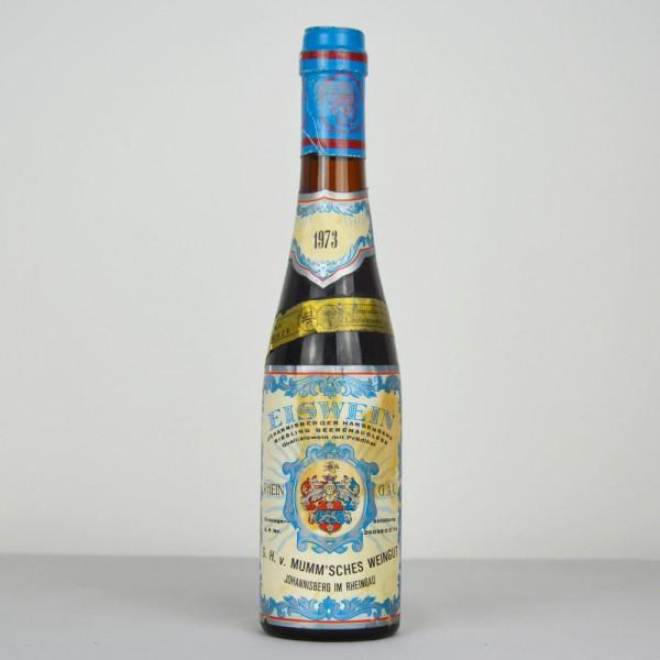 1973 G.H. von Mumm Johannisberger Hansenberg Riesling Eiswein-Beerenauslese