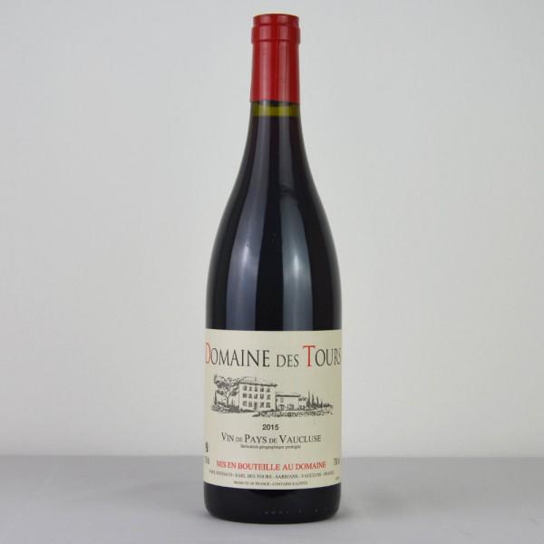 Domain des Tours Vin de Pays de Vaucluse 2015 Rouge