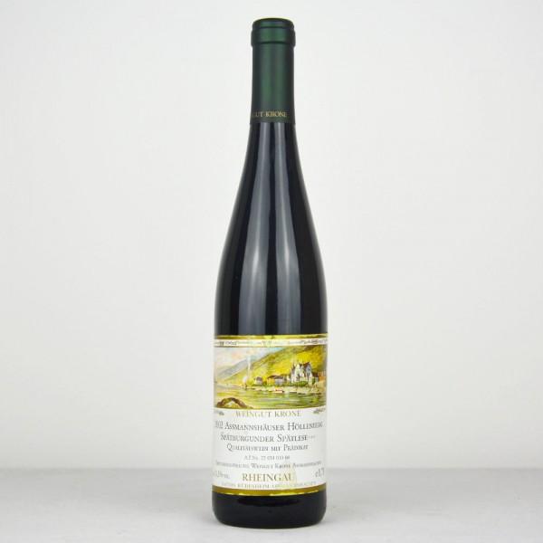 2002 Weingut Krone Assmannshäuser Höllenberg Spätburgunder Spätlese ***