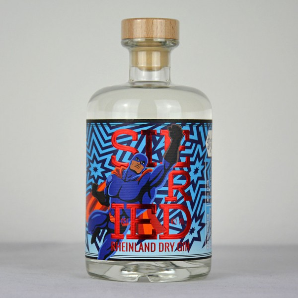 "Siegfried Rheinland Dry Gin Art Edition ""The Sparkling 4"" STAR MAN 500 ml"