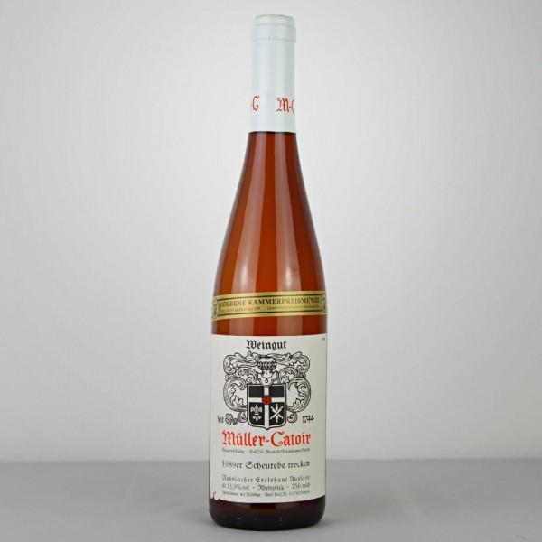 1989 Müller-Catoir Mussbacher Eselshaut Scheurebe Auslese trocken 0,75 Liter