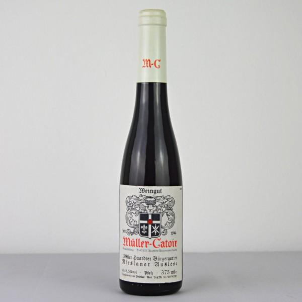 1996 Müller-Catoir Haardter Bürgergarten Rieslaner Auslese 375 ml