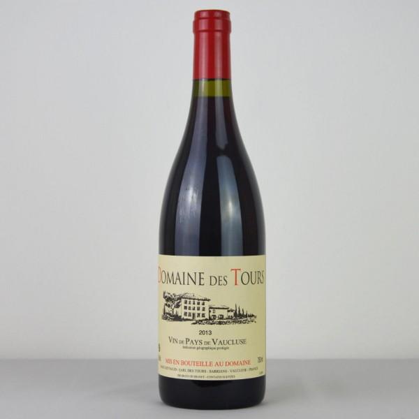 Domain des Tours Vin de Pays de Vaucluse 2013 Rouge