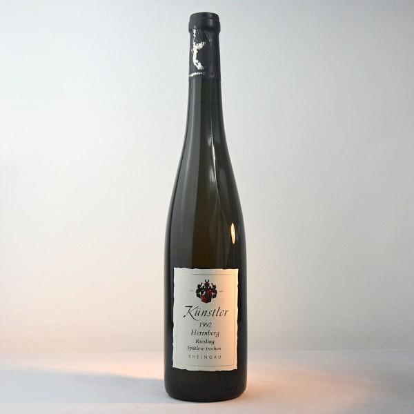 1992 Weingut Künstler Hochheimer Herrnberg Riesling Spätlese Trocken