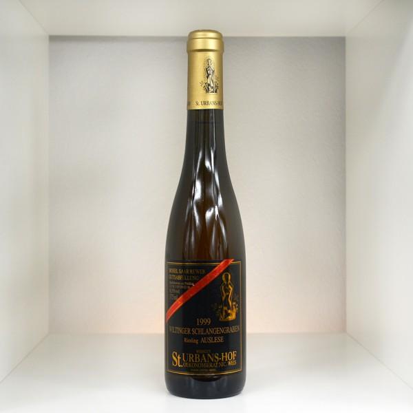 1999 Weingut St. Urbans-Hof Nik Weis Wiltinger Schlangengraben Riesling Auslese Goldkapsel 375 ml