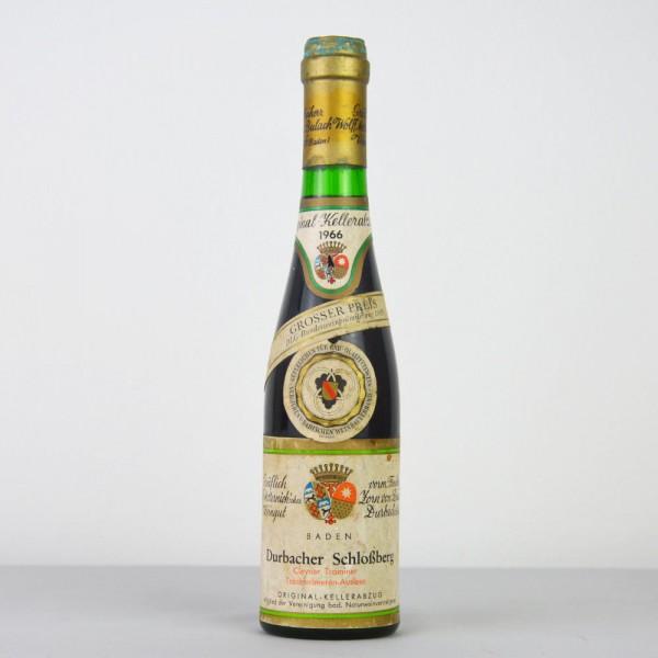 1966 Durbacher Schloßberg Clevner Traminer Trockenbeeren-Auslese 350 ml, Gräflich Wolff Metternich's
