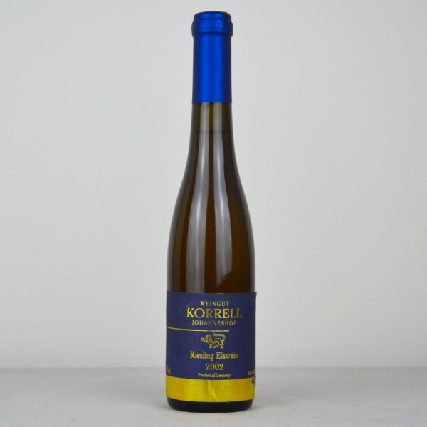 "2002 Korrell ""Johanneshof"" Kreuznacher Paradies Riesling Eiswein 375 ml"