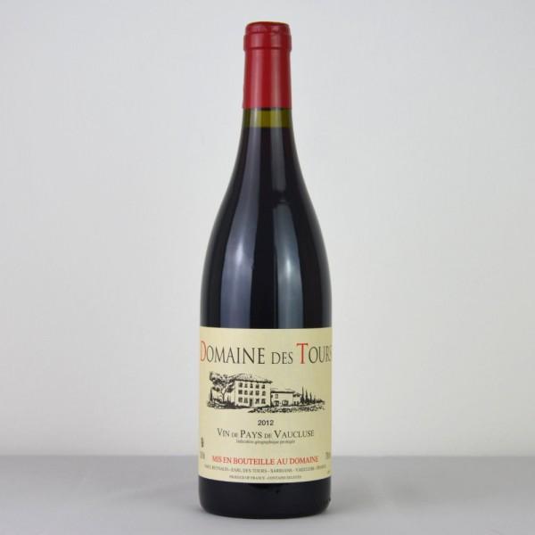 Domain des Tours Vin de Pays de Vaucluse 2012 Rouge