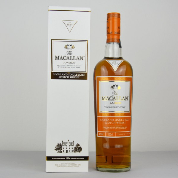 The Macallan 1824 Series 'Amber' Single Malt Whisky, Speyside