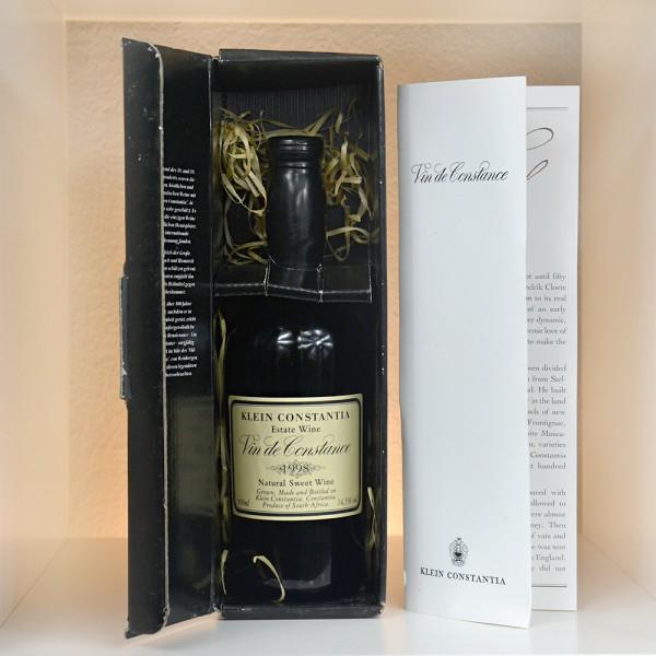 """1998 Klein Constantia """"Vin de Constance"""" - 500 ml"""