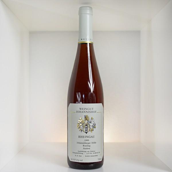 1989 Weingut Johannishof Johannisberger Hölle Riesling Auslese