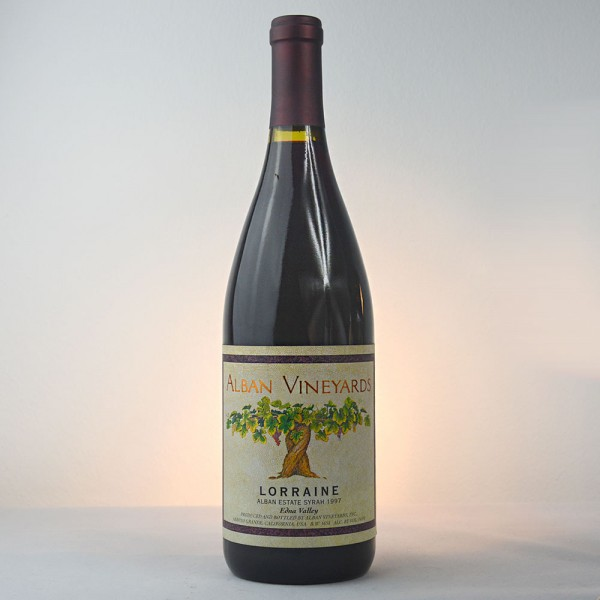 """1997 Alban Vineyards """"Lorraine"""" Estate Syrah, Edna Valley"""