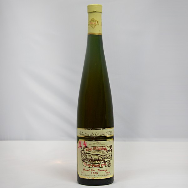 1990 René Muré Tokay-Pinot gris Selection des Grains Nobles Clos St. Landelin Grand Cru Vorbourg
