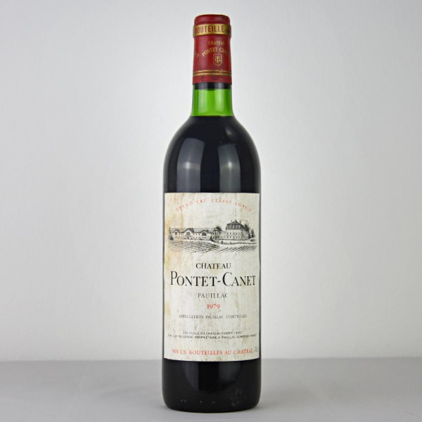 1979 Château Pontet-Canet Grand Cru Classé Pauillac AOC