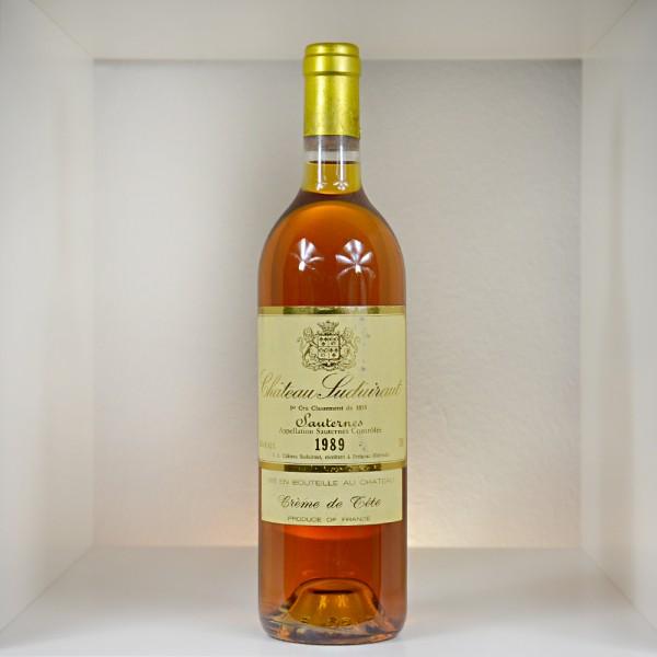 """1989 Château Suduiraut """"Crème de Tête"""" Sauternes AC"""