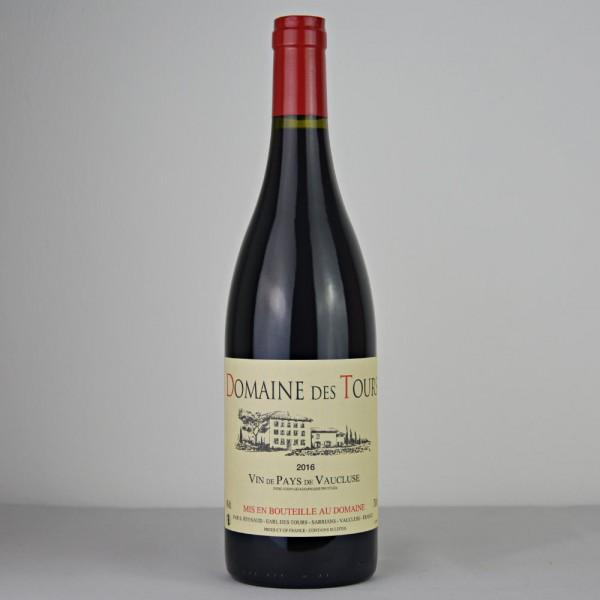 2016 Domaine des Tours Rouge Vin de Pays de Vaucluse IGP