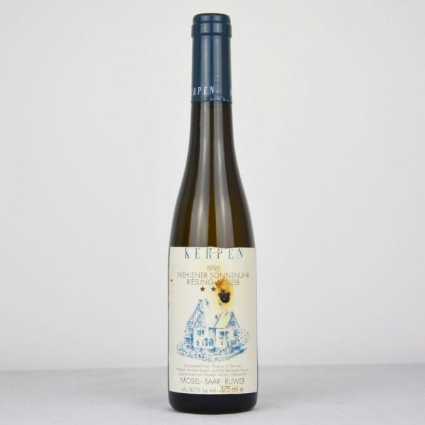 1990 Weingut Kerpen Wehlener Sonnenuhr Riesling Auslese *** 375 ml