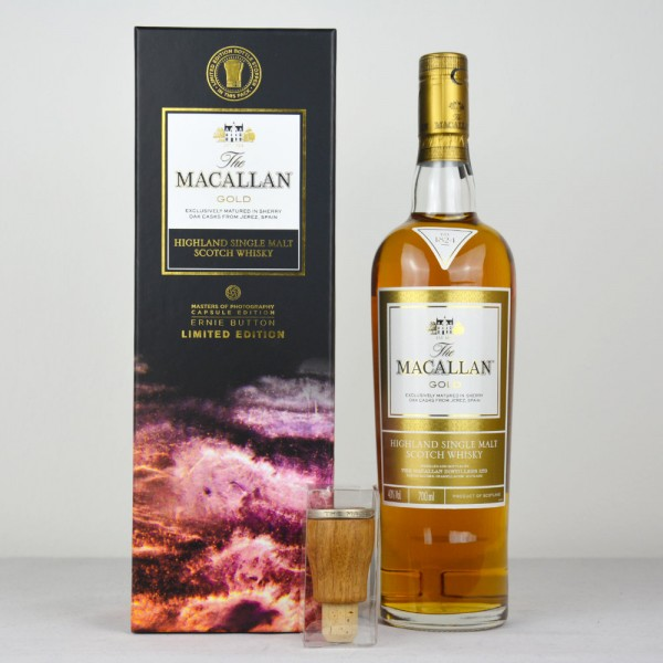 The Macallan Gold Ernie Button Limited Edition - Masters of Photography (Capsule Edition)