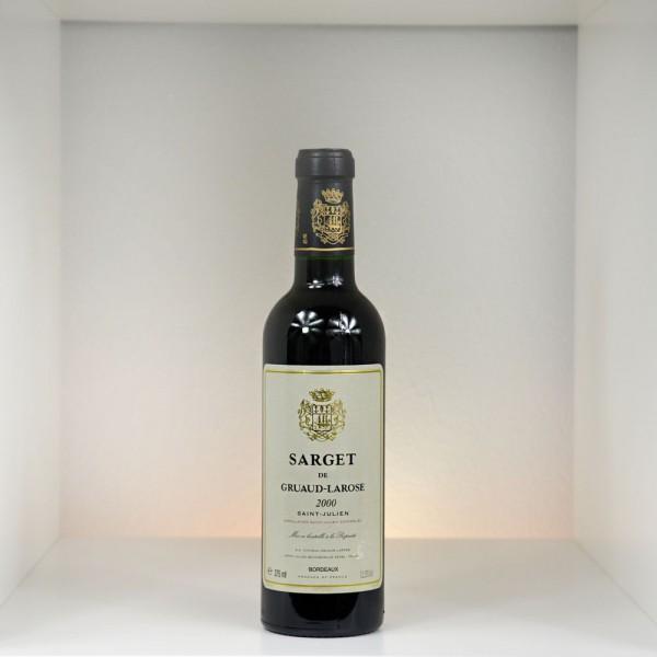 2000 Sarget de Gruaud-Larose, Saint-Julien AC, 375 ml