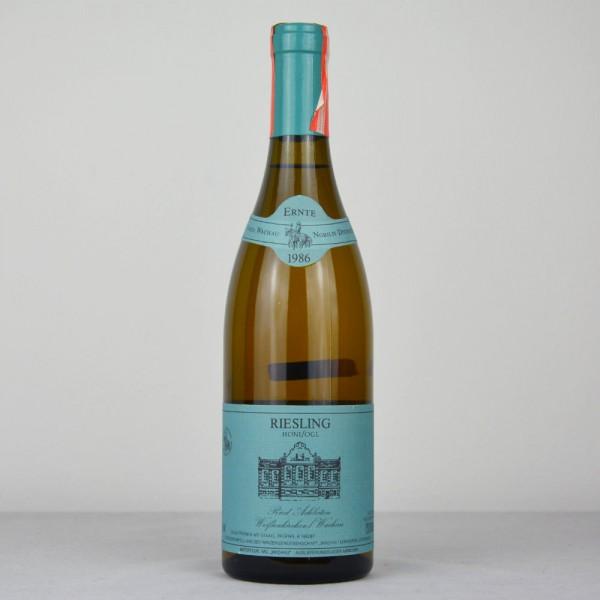 "1986 Freie Weingärtner Wachau Riesling ""Honifogl"" Ried Achleiten"
