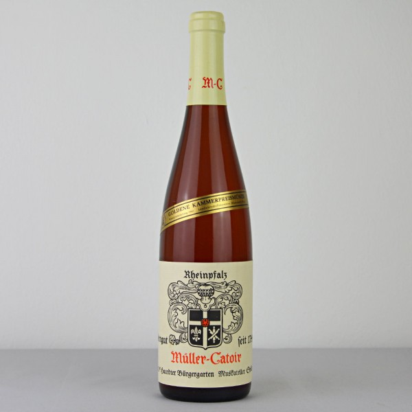 1981 Müller-Catoir Haardter Bürgergarten Muskateller Spätlese