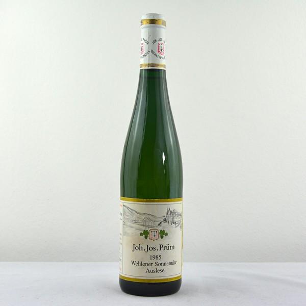 1985 J. J. Prüm Wehlener Sonnenuhr Riesling Auslese